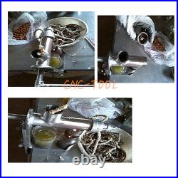 Manual Oil Press Machine Nuts Seed Peanut Extractor Stainless Steel #304