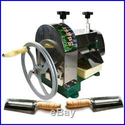 Manual Sugar Cane Ginger Press Juicer Juice Machine Extractor Mill Blender New