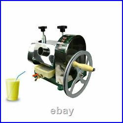Manual Sugar Cane Pess Juicer Juice Extractor with Stainless Steel Shell
