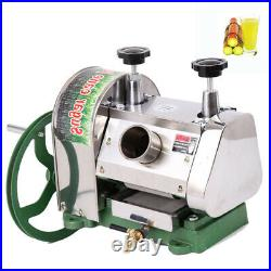 Manual Sugar Cane Press Juicer Juice Machine Commercial Extractor Mill 50kg / h
