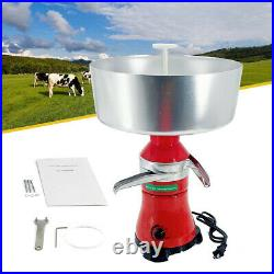 Milk Cream Electric Centrifugal Manually Separator Machine 80L/h Stainless Steel