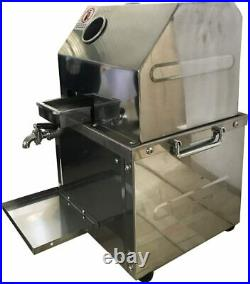 New 110V Commercial Electric Sugar Cane Ginger Juicer Extractor Press Machine