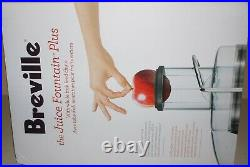 New Breville JE98XL Juice Fountain Plus Extractor Dishwasher Safe, Centrifugal