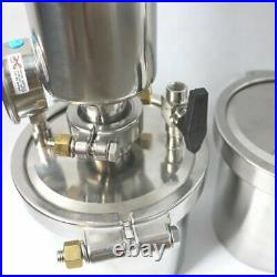 New in box Closed loop oil extractor 135G 304 Stainless steel