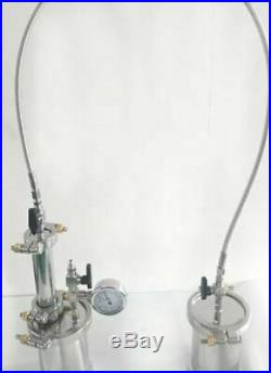 New in box closed loop 35g oil extractor, 304 stainless steel