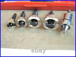 Nice! Rothenberger No. 22124 Ratcheting Tee Producer Extractor Set Copper Aluminu