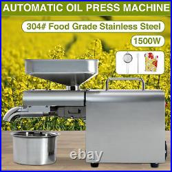 Oil Extraction Extractor Expeller Automatic Oil Press Machine Stainless Steel