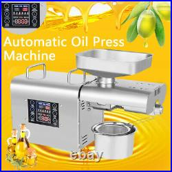 Oil Press Machine Automatic Oil Extraction Commerical Olive Extractor Expeller