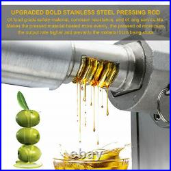 Oil Press Machine Automatic Oil Extraction Commerical Olive Extractor Expeller 3