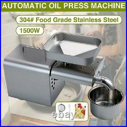 Oil Press Machine Oil Extraction Extractor Expeller Olive Peanut Nuts Seeds