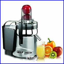Omega NC800HDSX Juicer Extractor and Nutrition System Silver Refurbished