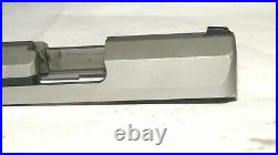 Sccy Cpx-1 9mm Stainless Steel Complete Slide, Firing Pin, Extractor, Sights