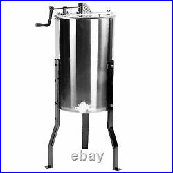 Scratch & Dent Large Two 2 Frame Stainless Steel Honey Extractor SS