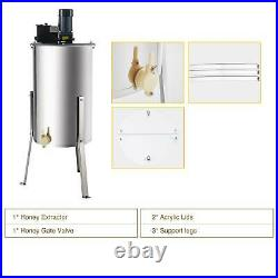 Second-hand 4/8 Frame Stainless Steel Honey Extractor Electric Beekeeping