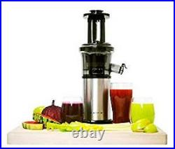 Shine Compact Cold Press Vertical Masticating Slow Juice Extractor, SJV-107-A