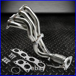 Shorty Tubular Exhaust Manifold Header Extractor For 03-07 Accord 2.4 K24a4