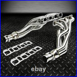 Ss Steel Tubular Exhaust Manifold Header Extractor For 08-10 Dodge Charger Srt8