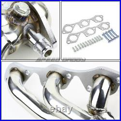 Ss Tubular Header Exhaust Manifold Extractor 97-03 Ford F150/heritage 4.2l V6