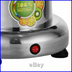 Stainless Steel Fruit and Vegetable Juice Extractor Juicer Squeezer Commercial