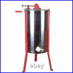 Stainless Steel Manual 3 Frame Honey Extractor