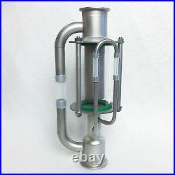 Stainless steel Soxhlet extractor 2 for moonshine still Tri-clamp connection