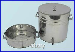 Steam WAX Melter Beeswax Extractor 12 L \ Stainless Steel Beekeeping Tools