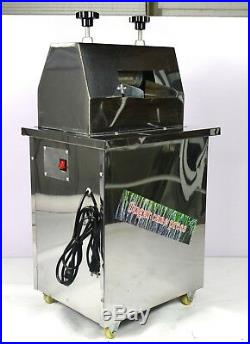 Sugar Cane Press Juicer Juice Machine Commercial Extractor Mill 110V 550W New