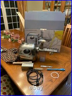 Super Angel Juice Extractor Full Stainless Steel Construction Slow Juicer