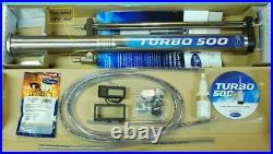 Turbo 500 (T-500) distiller, still. Essential Oil Extractor with reflux tower
