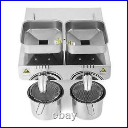 VEVOR Automatic Oil Press Machine Stainless Steel Extractor Machine Expeller