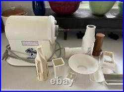 Vintage CHAMPION JUICER Heavy Duty Juice Masticating Extractor G5-NG-853S