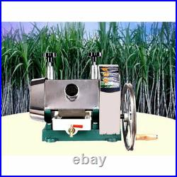 ZX Manual Sugarcane Juicer Sugar Cane Extractor Squeezer Stanless Steel New Come